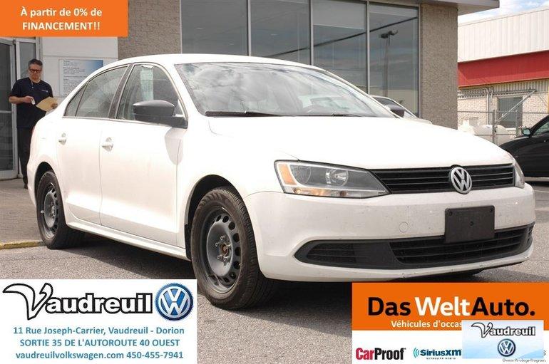 Volkswagen Jetta Trendline+ A/C + GR ELECT + SEUL 8500$ 2012