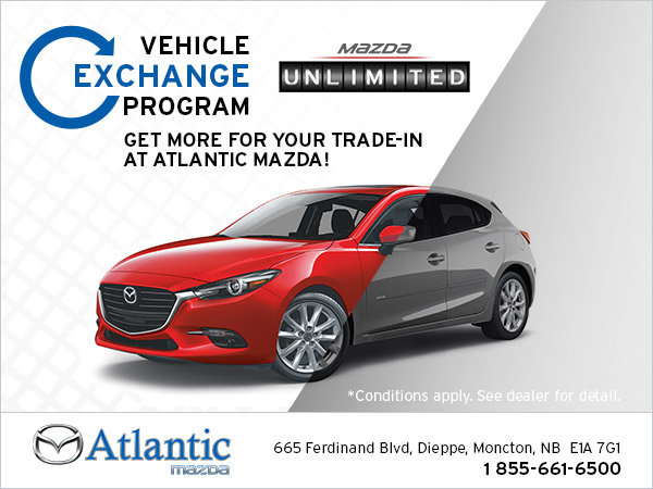 Vehicle exchange program