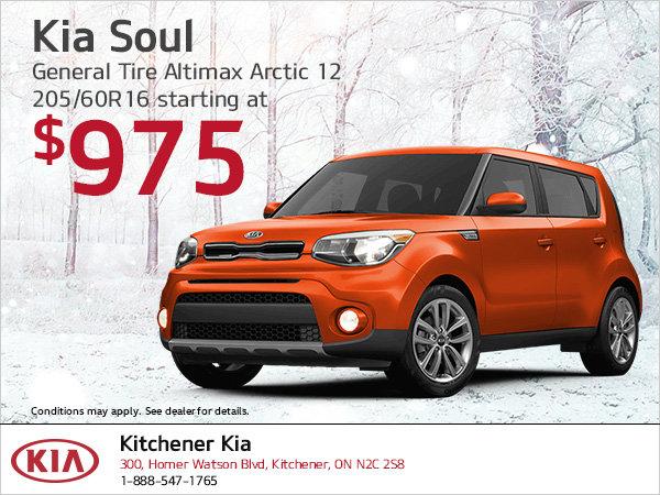 Kia Soul | Winter tire special