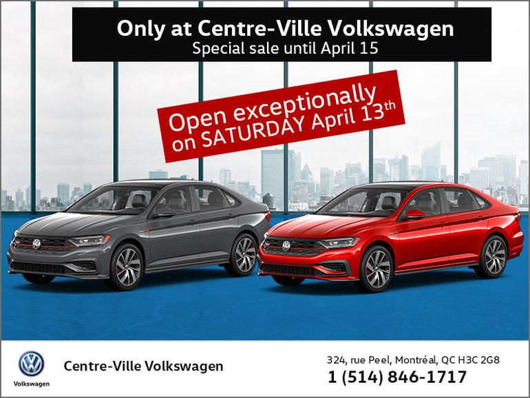 Exclusive to Centre-Ville Volkswagen