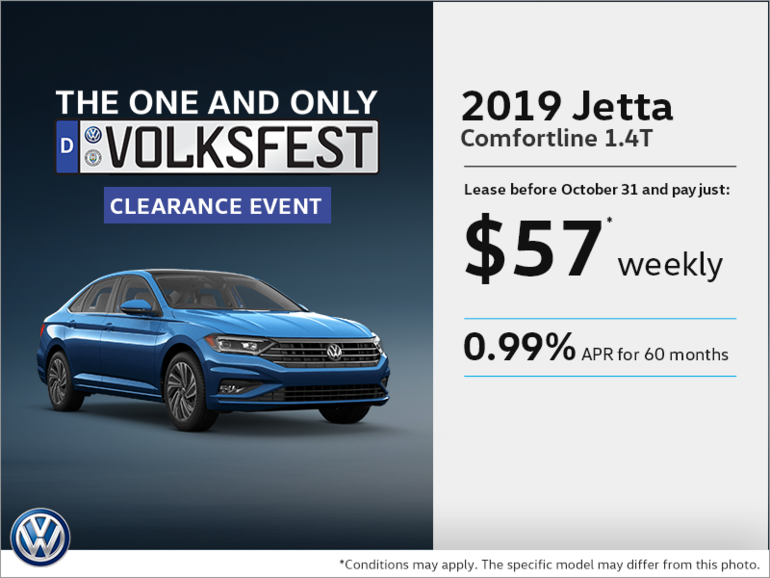 Get the all new 2019 Jetta!