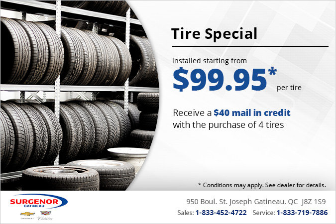 Get Tires Installed From $99.95!