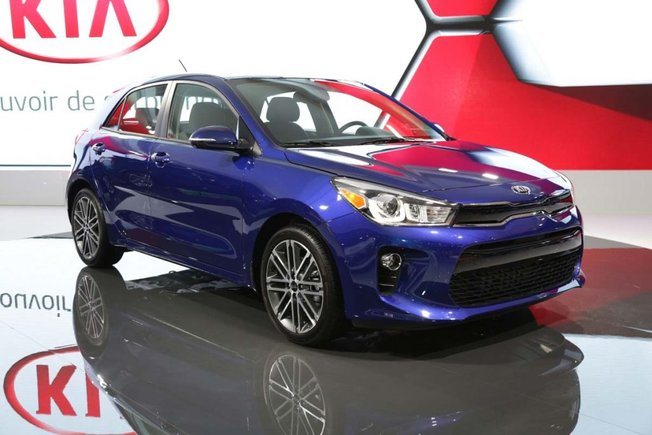 Come See The New Kia Rio Door At The Montreal Auto Show Today - Where is the car show today