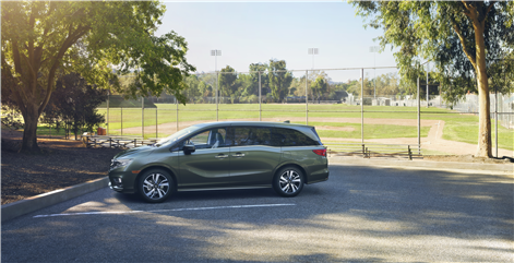2018 Honda Odyssey: Space For Everything in Montreal, Quebec