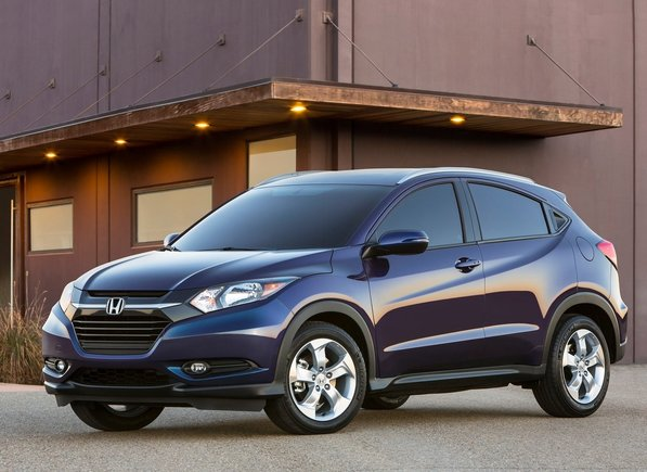 The 2016 Honda HR-V officially unveiled in Los Angeles