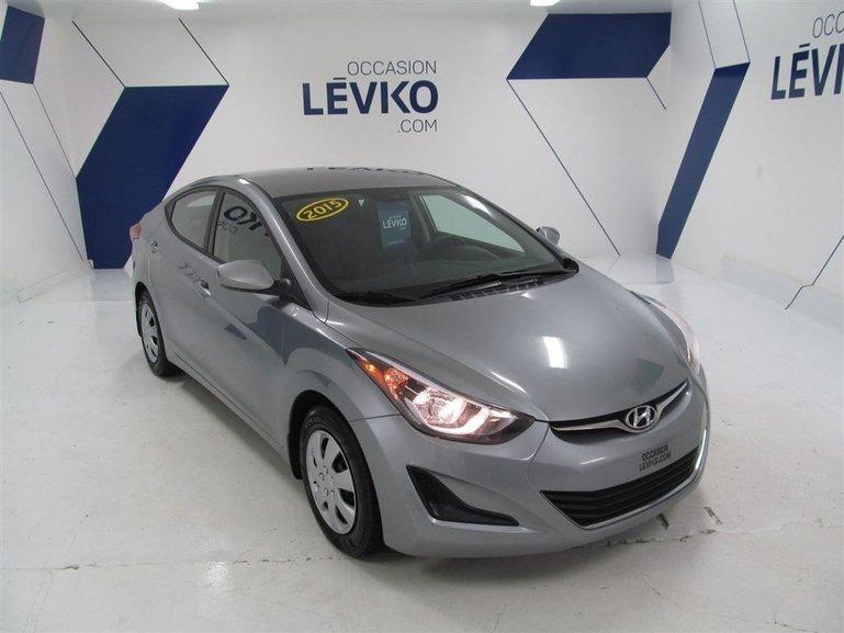 2015 Hyundai Elantra L + A/C