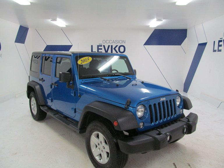 2015 Jeep Wrangler Unlimited UNLIMITED SPORT ***2 TOITS***