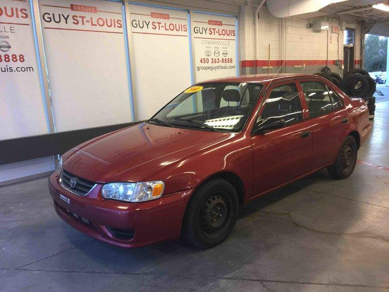 2001 Toyota Corolla CE BASE