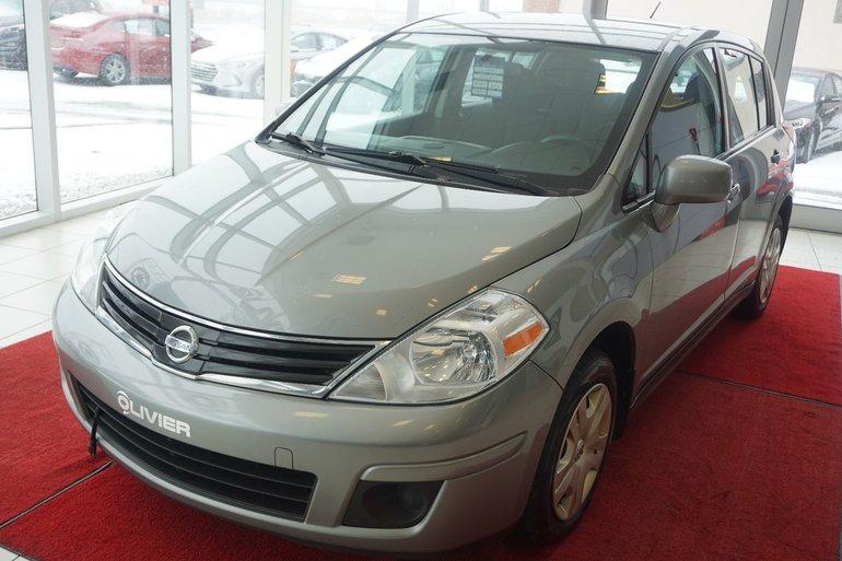 2012 Nissan Versa PNEUS HIVER-UN SEUL PROPRIO-JAMAIS ACCIDENTÉ