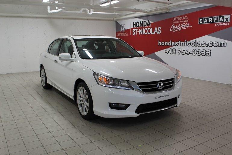Honda Accord Sedan Touring + GPS + CUIR + TOIT + AILERON 2014