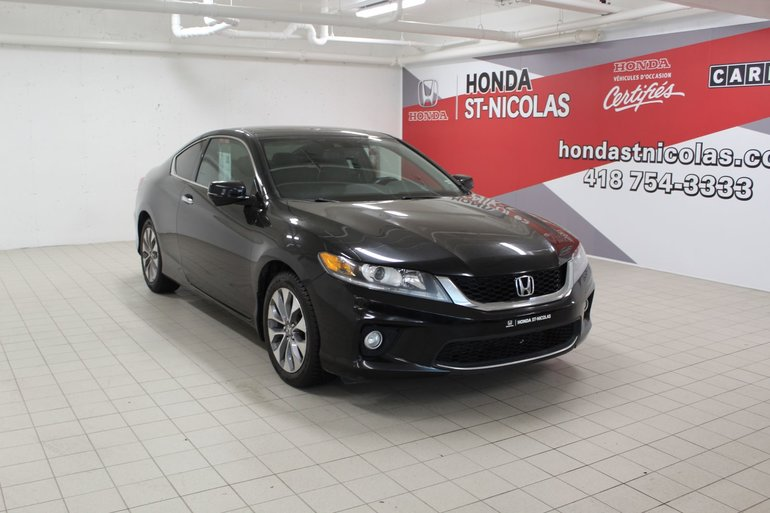Honda Accord EX-L + GPS + CUIR + TOIT + PUSH START + CAMÉRA 2014