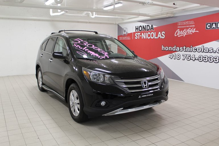 Honda CR-V Touring + GPS + CUIR + TOIT + CAMÉRA 2013