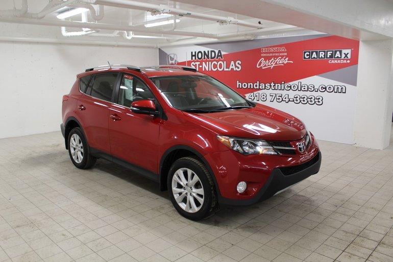 Toyota RAV4 Limited + TOIT + CUIR + CAMERA + AWD 2015