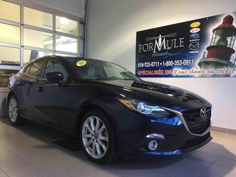 Mazda Mazda3 GT, CUIR, TOIT OUVRANT 2016