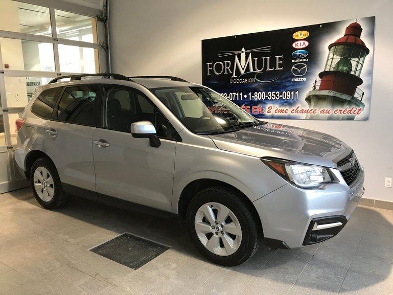 Subaru Forester COMMODITÉ 2018