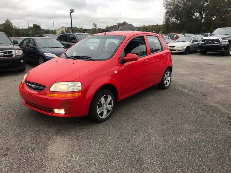Automobiles Desjardins Pre Owned 2006 Chevrolet Aveo For Sale In