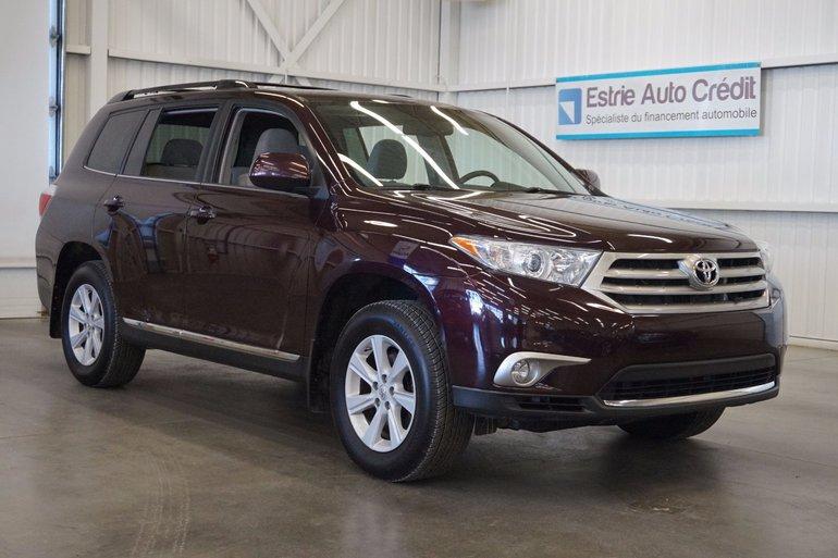 Toyota Highlander AWD (caméra de recul) 2012