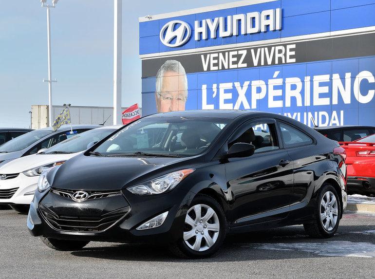Hyundai Elantra Coupe GLS  **TOIT OUVRANT** 2013