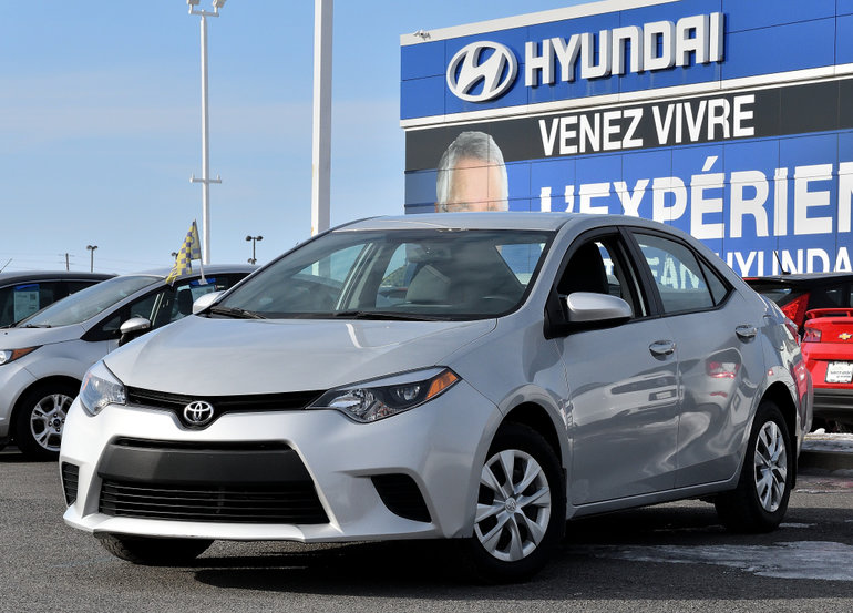 Toyota Corolla CE  AIR CLIMATISE 2014