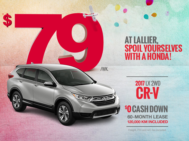 Save on the 2017 Honda CR-V Today!