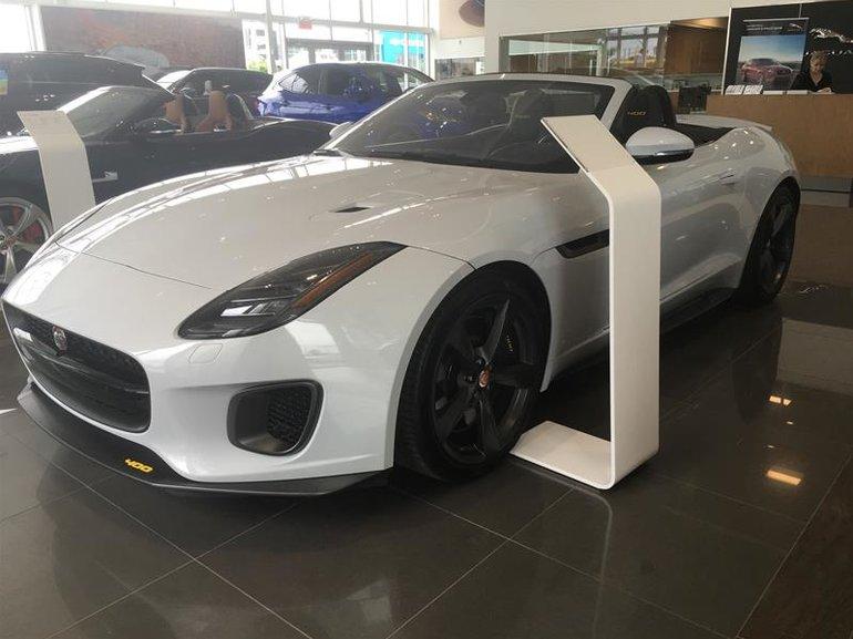 2018 Jaguar F-Type Convertible 400 Sport AWD