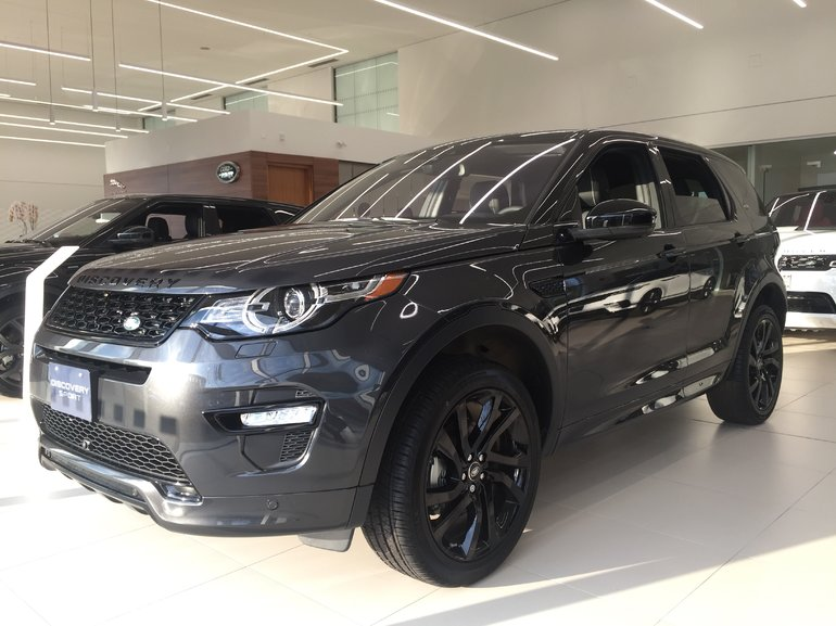 2018 Land Rover DISCOVERY SPORT 237hp HSE Luxury