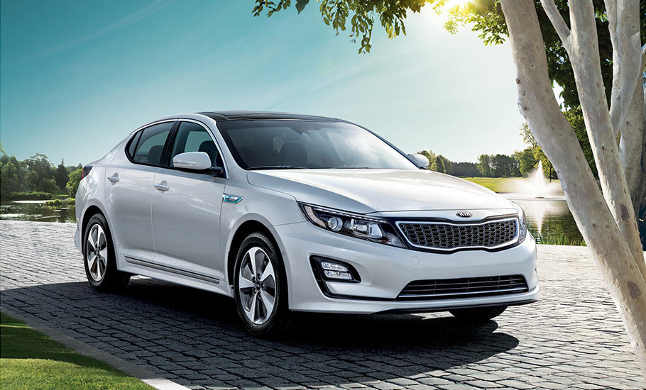 2016 Kia Optima Hybrid: style and efficiency