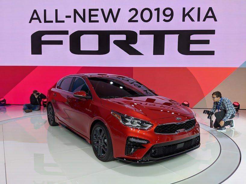 Kia dévoile la toute nouvelle Kia Forte 2019