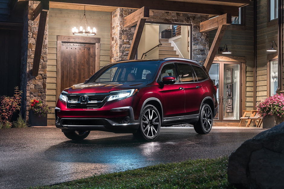 A look at the 2019 Honda Pilot