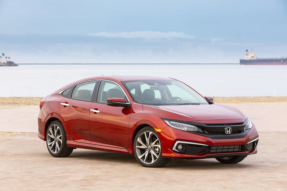 Voici toutes les versions de la Honda Civic 2019
