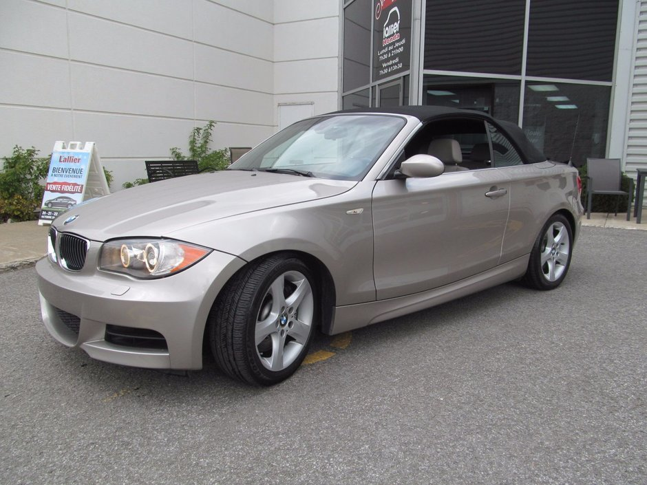 Pre Owned 2008 Bmw 135i Twin Turbo A Voir Absolument Lallier Honda
