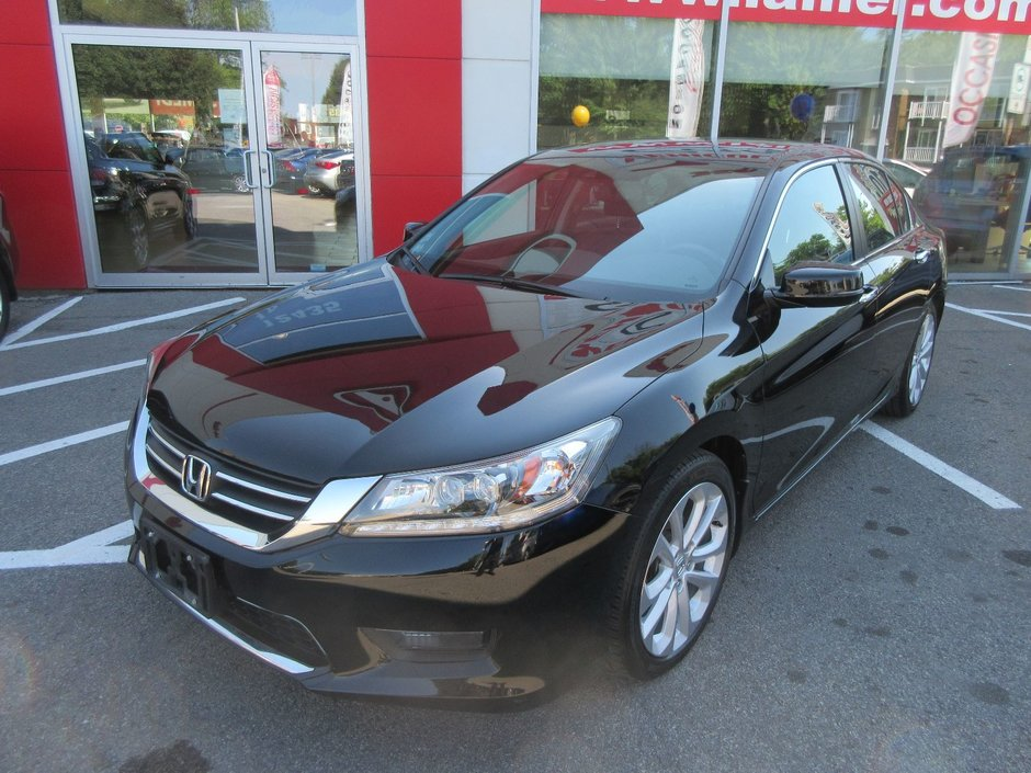 honda accord touring 2014 d 39 occasion lallier honda montreal. Black Bedroom Furniture Sets. Home Design Ideas