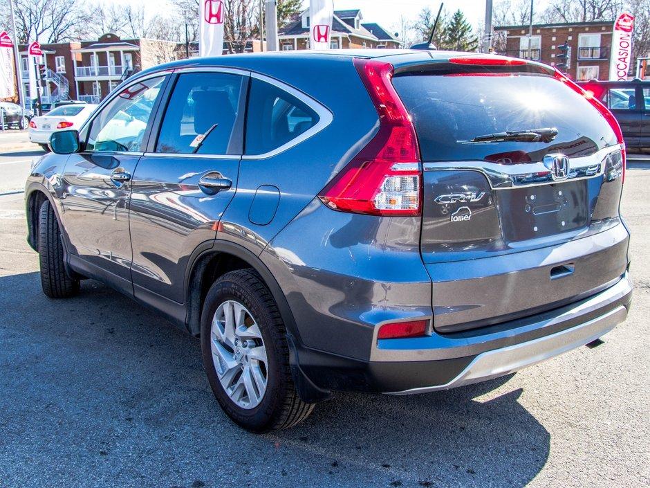 Pre owned 2016 honda cr v ex l lallier honda montreal in for Honda used inventory