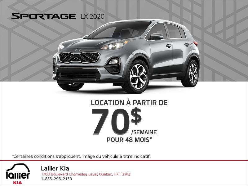 Le Kia Sportage 2020