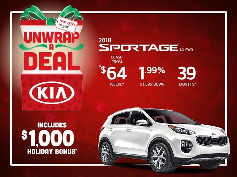 Save Big on the 2018 Sportage