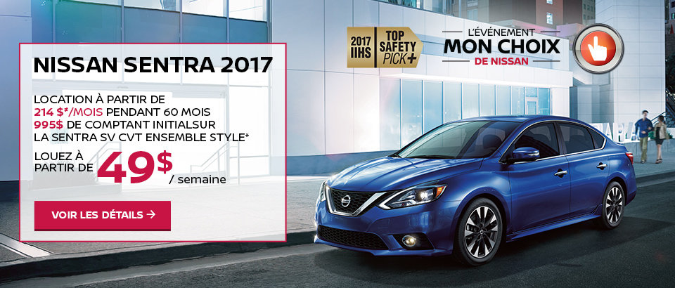 L'événement mon choix de Nissan - Sentra
